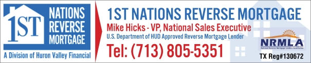 1st Nations Reverse Mortgage, a Texas Reverse Mortgage Lender
