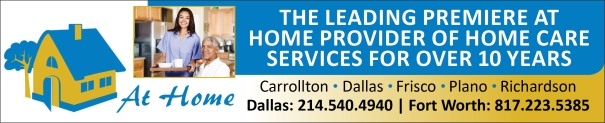 At Home Personal Senior Care - Dallas, Plano, Richardson, Carrollton, Frisco TX