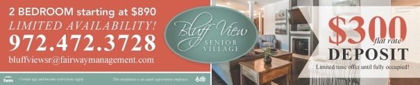 Bluff View Senior Village - Affordable Senior Apartments Crandall, TX