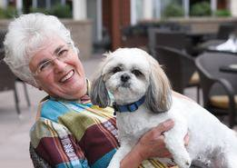 Denton Creek Senior Living is Pet Friendly