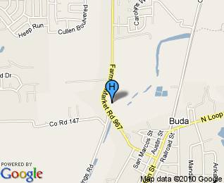 creekside villas senior village buda tx - map