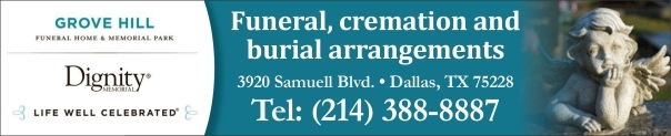 Funeral home and cremation Dallas, Garland, Mesquite, Richardson, Seagoville TX
