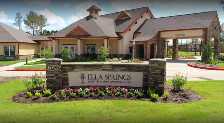 Ella Springs Assisted Living Memory Care - Spring TX