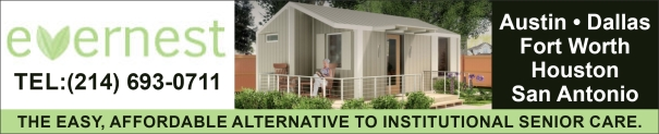 Texas outdoor senior cottages, granny pods, MEDcottages