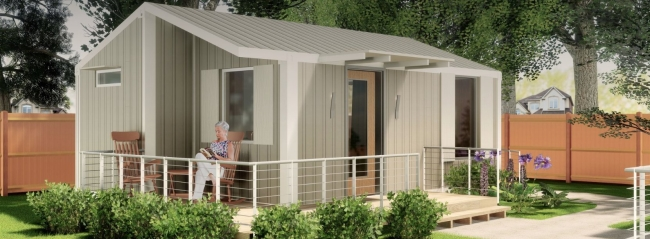 Backyard senior tiny homes texas granny pods reserve for Accessory dwelling unit austin