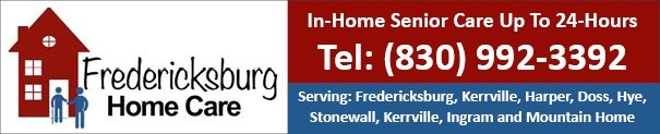 Fredericksburg and Kerrville TX Home Care, Respite and Aging in Place Services