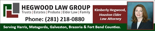 Kimberly Hegwood of Hegwood Law Group - Houston Elder Law Attorney