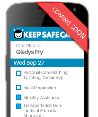Keep Safe Care - Caregiver Geo-location check-in / check-out.