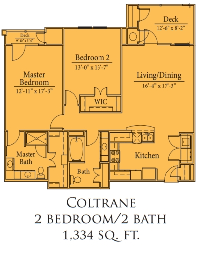Coltranen Floor Plan