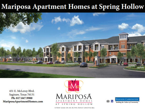 Mariposa Apartment Homes at Spring Hollow - Artist Rendering
