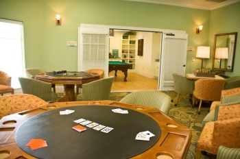 Mariposa Apartment Homes at Reed Road - Game Room - Houston TX 55+