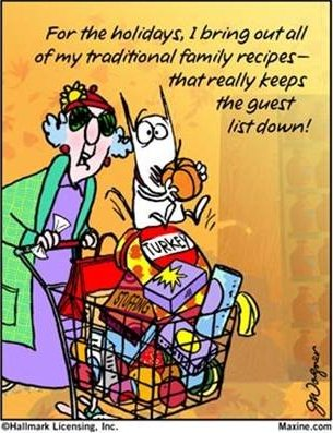 Maxine Thanksgiving Joke