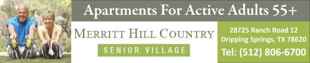 Merritt Hill Country 55+ Independent Living Apartments for Active Adults