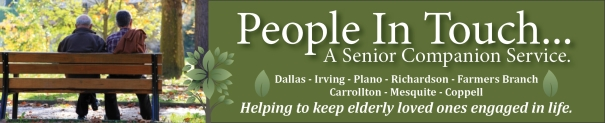People In Touch, Dallas area senior companion service