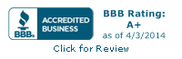 Professional Caretakers BBB Rating