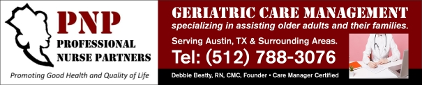Geriatric Care Managers Austin, Georgetown, Lakeway, Round Rock, Sun City TX