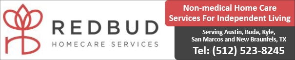 Red Bud Home Care Services South Austin, Buda, Kyle, San Marcos, New Braunfels