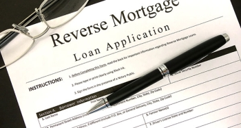 Reverse mortgage loan application