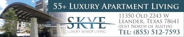 Skye Senior Living - Apartments for Adults 55+ in Leander TX