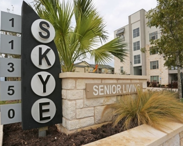 Skye Luxury Senior Living Leander Tx 55 Apartments