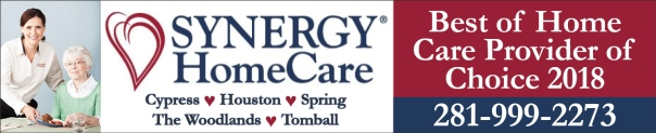 Synergy Home Care North Houston, Cypress, Spring, The Woodlands, Tomball TX