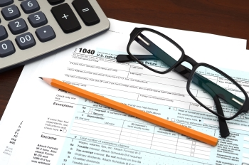 Income tax deduction form
