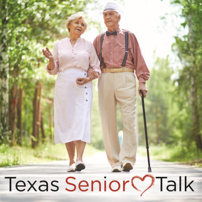 Texas Senior Talk - Logo