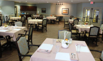 The Springs Memory Care - Dining Room