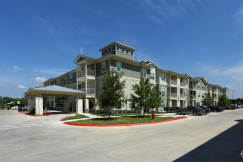 Exterior View - The Village at Ben White - Austin TX 55+ Affordable Senior Living Apartments