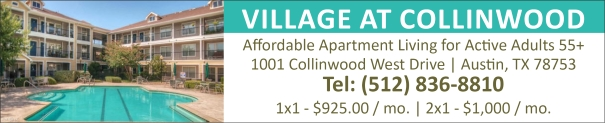 Village at Collinwood Affordable Senior Apartments in Austin TX