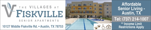Villages at Fiskville Affordable 55+ Senior Apartments Austin TX