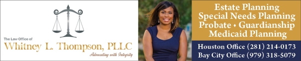 Elder Law Attorney Whitney L. Thompson, PLLC Houston / Bay City